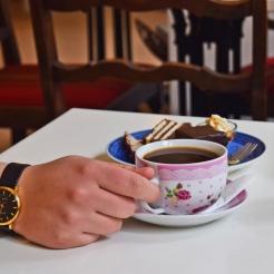 Kagetallerken inkl. kaffe