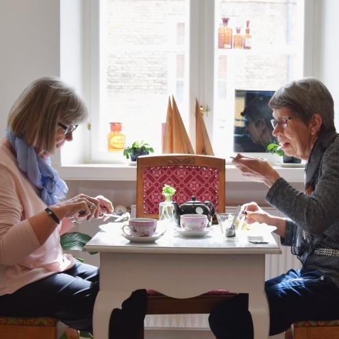 Spis frokost med din veninde i Det Gamle Apothek, Christiansfeld