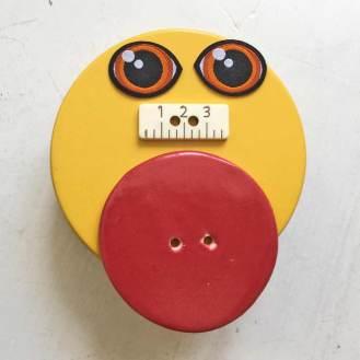 Alskens knapper og enkelte lapper.