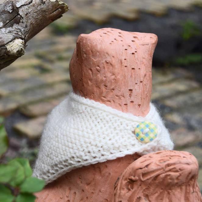 Strikkekits - her en baby-bib