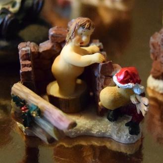 Figur med nysgerrig Rudolf
