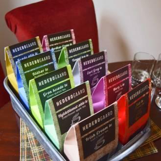 Stort udvalg af løs te